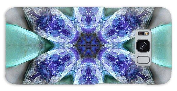 Turquoise Amethyst Star Mandala Galaxy Case