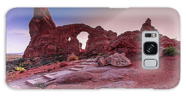 Turret Arch Galaxy Case by Tim Bryan
