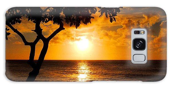 Turtle Bay Sunset Galaxy Case