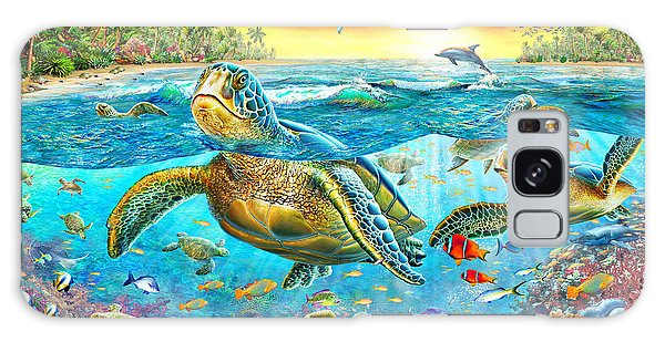 Reef Diving Galaxy Case - Turtle Cove by MGL Meiklejohn Graphics Licensing
