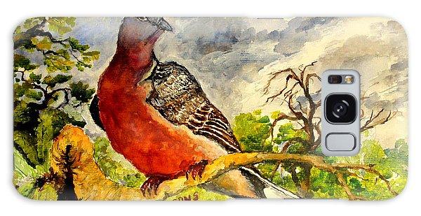 Turtle - Dove Galaxy Case by Jason Sentuf
