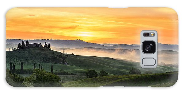 Tuscan Countryside Galaxy Case