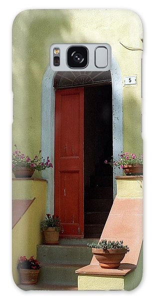 Tuscan Door Galaxy Case