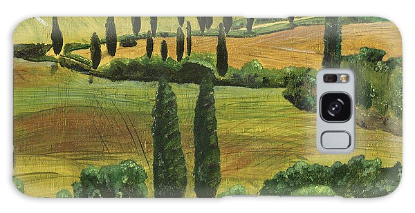 Hills Galaxy Case - Tuscan Dream 1 by Debbie DeWitt