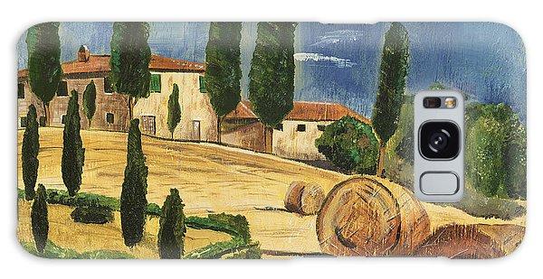 Hills Galaxy Case - Tuscan Dream 2 by Debbie DeWitt