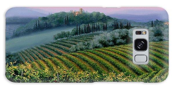 Tuscan Dusk Galaxy Case