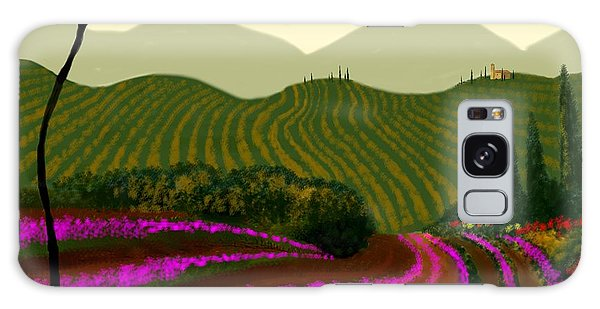 Tuscan Fields Of Color Galaxy Case