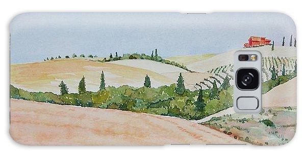 Tuscan Hillside One Galaxy Case by Mary Ellen Mueller Legault