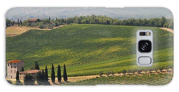Tuscan Hillside Galaxy Case