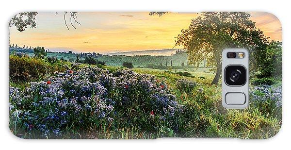 Tuscan Landscape Galaxy Case by Yuri Santin