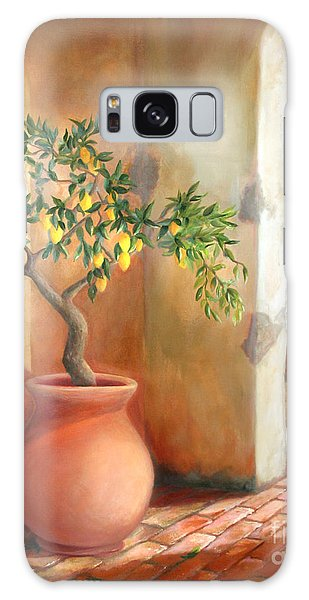 Tuscan Lemon Tree Galaxy Case