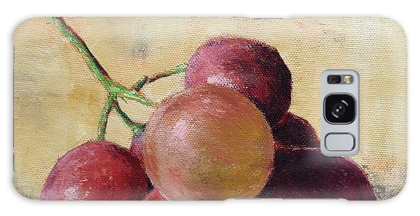 Tuscan Red Globe Grapes Galaxy Case