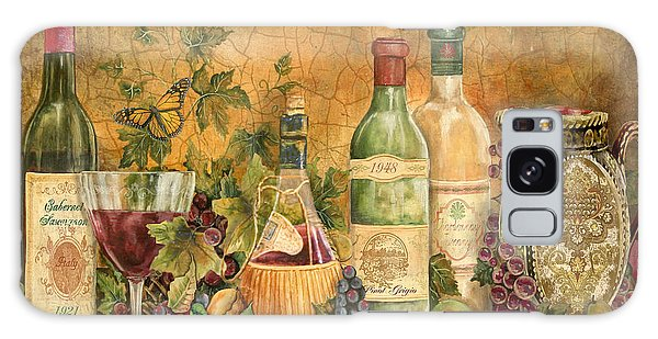 Tuscan Wine Treasures Galaxy Case by Jean Plout