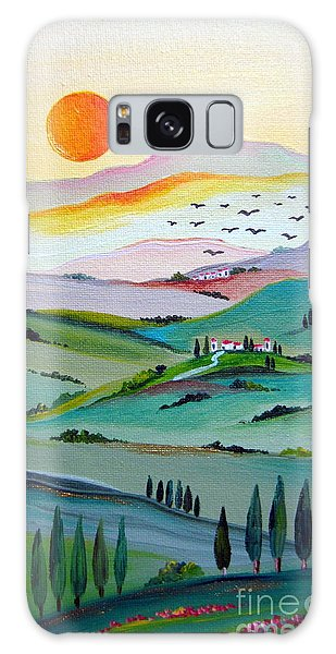 Tuscany Sunset Galaxy Case by Roberto Gagliardi