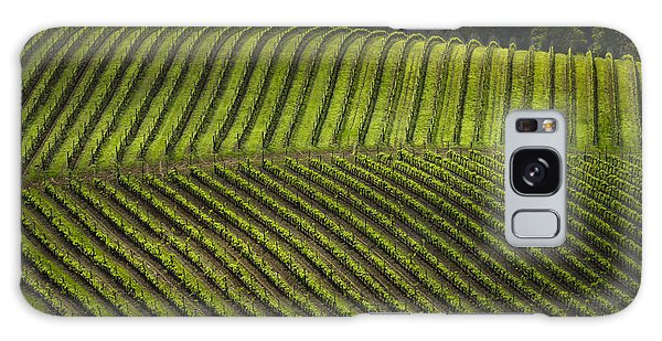Tuscany Vineyard Series 3 Galaxy Case by John Pagliuca