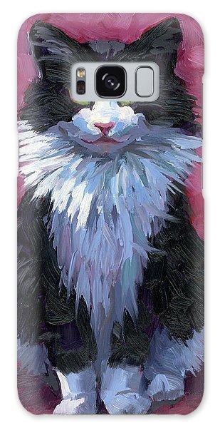 Tuxedo Cat Galaxy Case