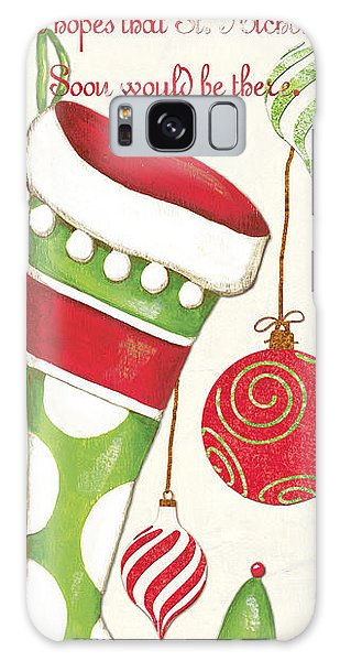 Santa Claus Galaxy Case - Twas The Night... by Debbie DeWitt
