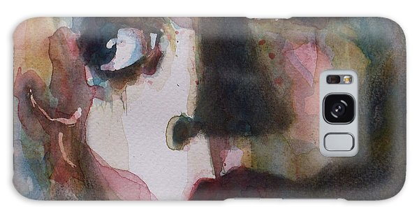Rolling Stone Magazine Galaxy Case - Twiggy Where Do You Go My Lovely by Paul Lovering
