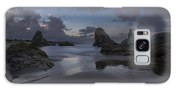 Twilight At Bandon Galaxy Case by Tim Bryan