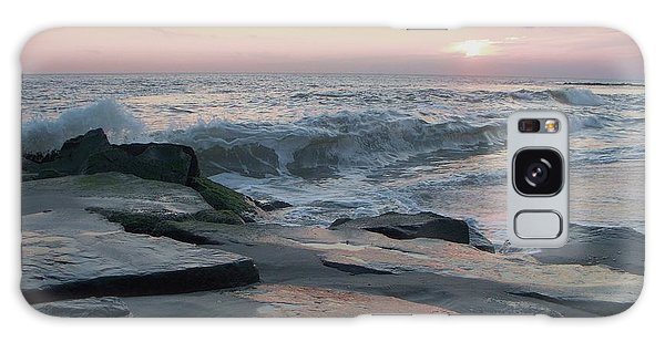 Twilight At Cape May In October Galaxy Case by Eric  Schiabor