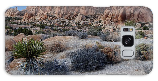 Twilight At Joshua Tree Galaxy Case