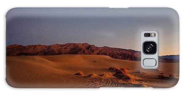 Twilight At The Dunes  Galaxy Case by Gene Garnace