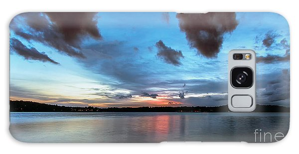 Twilight On Lake Lanier Galaxy Case