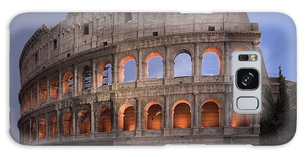 Twilight Colosseum Rome Italy Galaxy Case