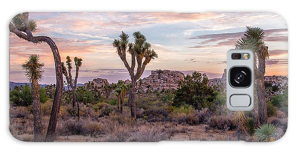 Featured Images Galaxy Case - Twilight Comes To Joshua Tree by Peter Tellone
