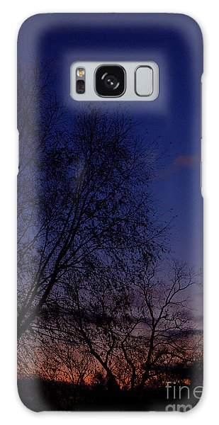 Twilight Crack Of Dawn Galaxy Case