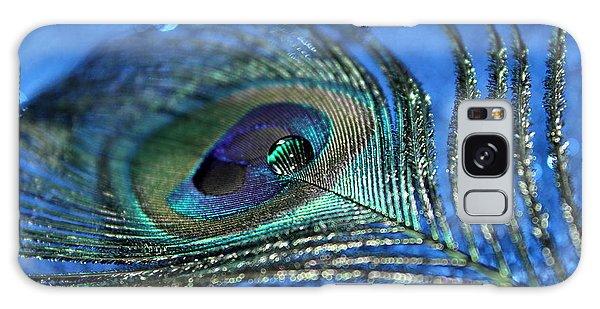 Peacocks Galaxy Case - Twilight Escape by Krissy Katsimbras