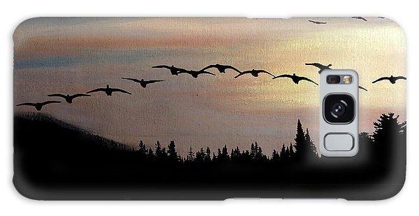 Twilight Glide Galaxy Case by R Kyllo