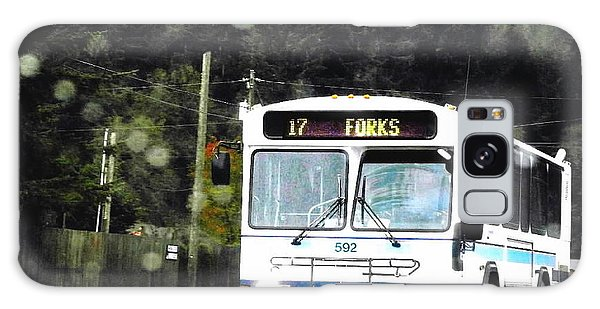 Twilight In Forks Wa 1 Galaxy Case by Sadie Reneau