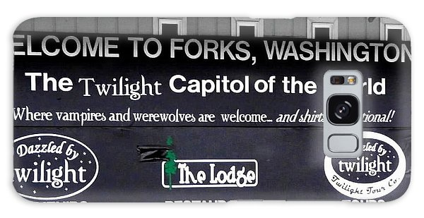 Twilight In Forks Wa 5 Galaxy Case by Sadie Reneau