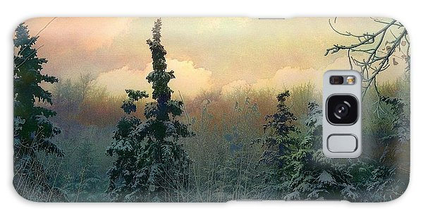 Twilight In The Forest Galaxy Case by Shirley Sirois