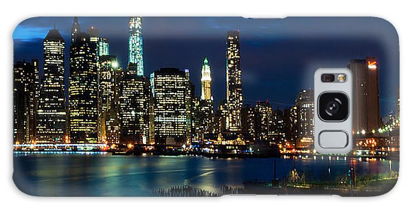 Twilight Nyc Panorama Galaxy Case