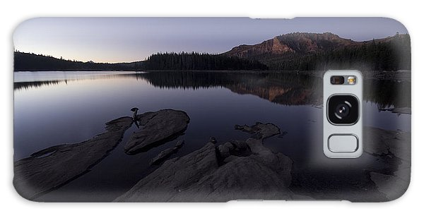 Twilight On Silver Lake Galaxy Case