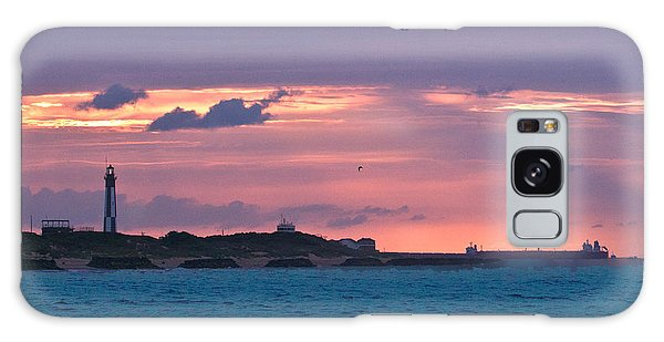 Twilight Over Cape Henry Galaxy Case