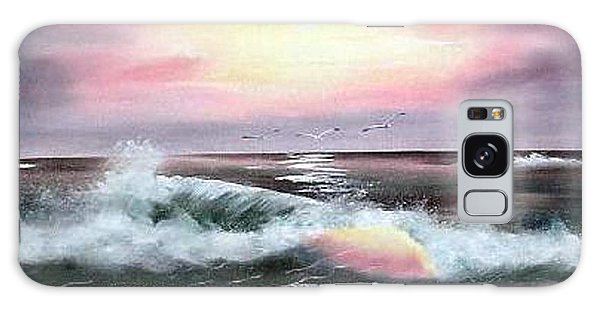Twilight Surf Galaxy Case