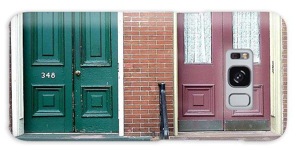 Twin Doors Galaxy Case