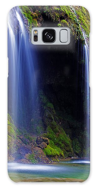 Twin Falls Galaxy Case by James Roemmling
