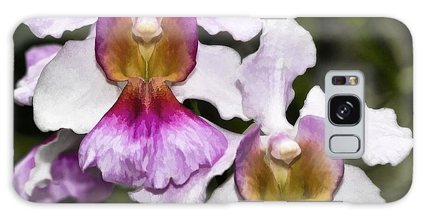 Twin Orchids Galaxy Case