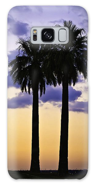 Twin Palms Galaxy Case