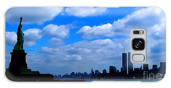 Twin Towers In Heaven's Sky - Remembering 9/11 Galaxy Case