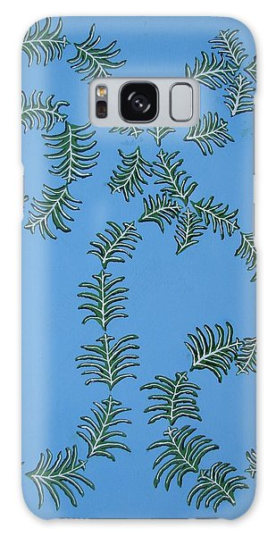 Twirling Leafs Galaxy Case by Brady Harness