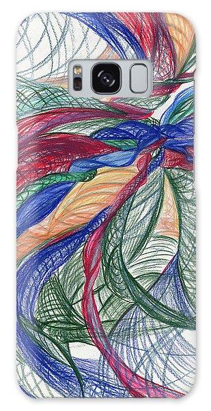 Twirls And Cloth Galaxy Case