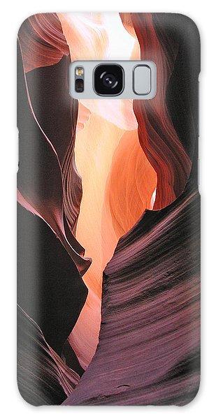 Twisted Canyon Galaxy Case by Marcia Socolik