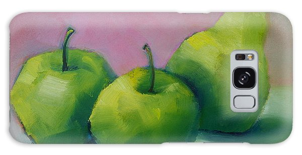 Two Apples And One Pear Galaxy Case