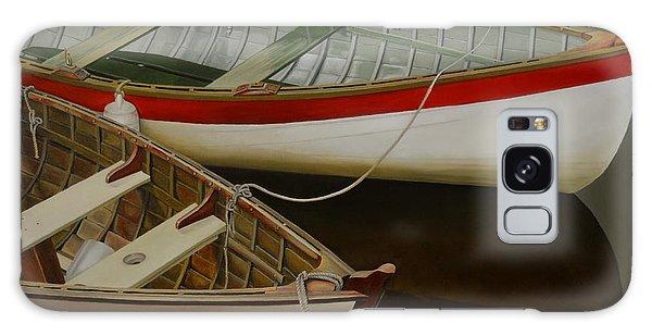 Two Boats Galaxy Case by Thu Nguyen