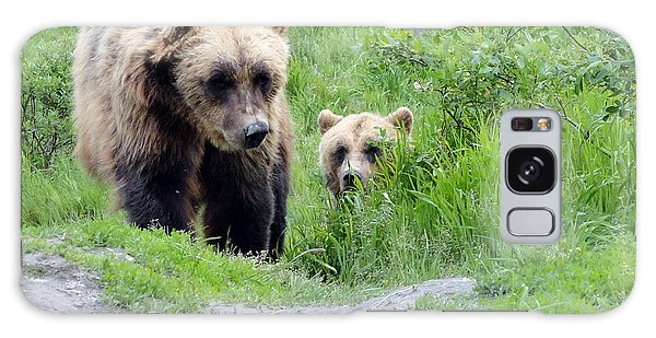 Two Brown Bears Galaxy Case
